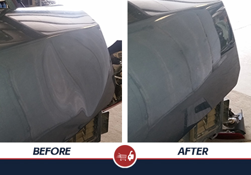 Before and After Dent Repair